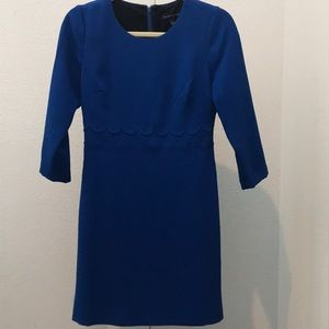 Banana Republic blue shift dress